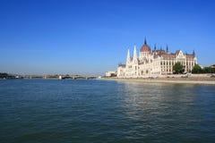 Parlament von Ungarn Lizenzfreies Stockbild