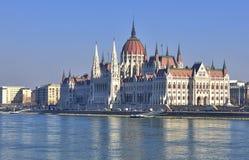Parlament von Ungarn, Budapest Stockbilder