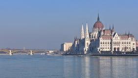 Parlament von Ungarn, Budapest Lizenzfreies Stockbild