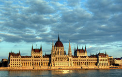 Parlament w Budapest Obrazy Stock