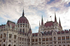 Parlament w Budapest Obrazy Royalty Free