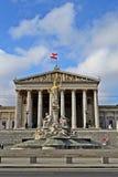 Parlament Wien Zdjęcia Stock
