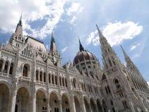 parlament z budapesztu Obrazy Stock