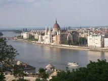 parlament z budapesztu Zdjęcie Royalty Free