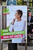 Parlamentary竞选在奥地利 图库摄影
