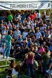Parlamentary Angelo Tofalo от Movimento 5 Stelle (итальянская политическая партия) Стоковые Изображения RF