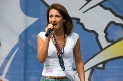 Parlamentary Carla Ruocco de Movimento 5 Stelle (partido político italiano) Imagem de Stock Royalty Free
