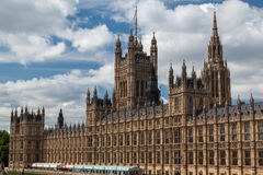 Parlamentbyggnad England Fotografering för Bildbyråer