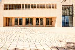 Parlamentbyggnad i den Vaduz staden Fotografering för Bildbyråer