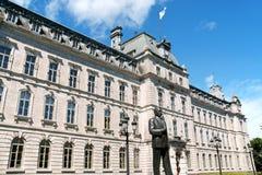 Parlamentbyggnad i Quebec City, Kanada Arkivbilder