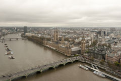 Parlamentet av Förenade kungariket Royaltyfria Foton