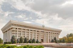 Parlamentet av Republiken Kirgizistan Arkivbilder