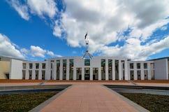 Parlamenthus, Canberra, Australien Arkivfoton