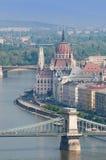 Parlamento di Budapest Fotografia Stock Libera da Diritti