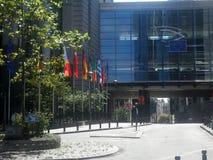 Parlamento Europeo, Bruxelles, Belgio Fotografia Stock Libera da Diritti