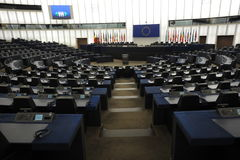 Parlamento Europeo Estrasburgo imagenes de archivo