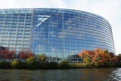 Parlamento Europeo Strasburgo Immagini Stock