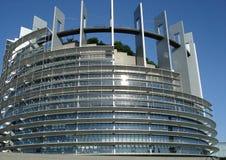 Parlamento Europeo a Strasburgo Immagini Stock Libere da Diritti