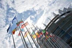 Parlamento Europeu fotografia de stock