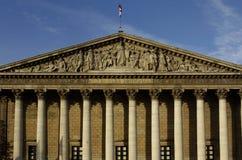 Parlamento francese Immagini Stock