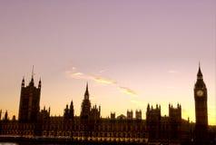 Parlamento-Londra Fotografie Stock