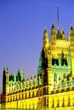 Parlamento-Londra Immagini Stock