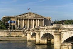 Parlamento nazionale francese Fotografie Stock