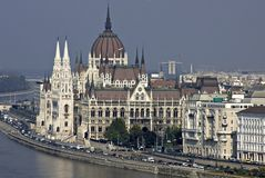 Parlamento ungherese fotografia stock libera da diritti