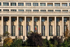 parlamentromanian Royaltyfri Fotografi