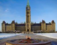Parlaments-Gebäude Lizenzfreies Stockbild