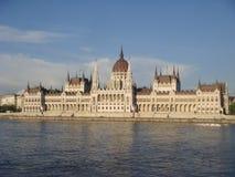 Parlaments-Gebäude Budapest Stockfotos