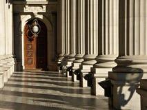 Parlaments-Gebäude, Victoria Stockbilder