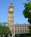 Parlaments-Gebäude in London, England, Großbritannien Stockbilder