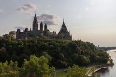 Parlaments-Hügel in Ottawa Kanada Stockbilder