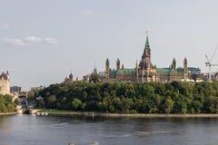 Parlaments-Hügel in Ottawa Kanada Lizenzfreie Stockfotos