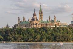 Parlaments-Hügel in Ottawa Kanada Lizenzfreie Stockfotografie