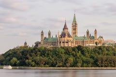 Parlaments-Hügel in Ottawa Kanada Lizenzfreie Stockbilder