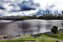 Parlaments-Hügel, Ottawa, Kanada Stockbild