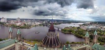 Parlaments-Hügel, Ottawa, Kanada Lizenzfreies Stockbild