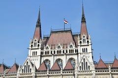 Parlamentsgebäude, Budapest Stockfotos