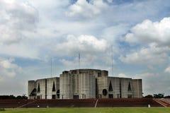 Parlamentsgebäude in Dhaka; Bangladesch stockbild