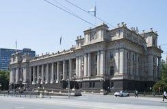 Parlamentsgebäude, Frühlings-Straße, Melbourne, Australien stockbild