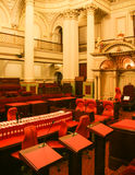 Parlamentsgebäude in Melbourne, Australien Lizenzfreie Stockbilder