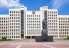 Parlamentsgebäude in Minsk belarus Stockfoto