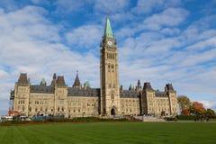 Parlamentsgebäude - Ottawa Stockbilder