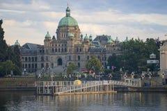 Parlamentsgeb?ude in Victoria, Britisch-Columbia lizenzfreies stockfoto