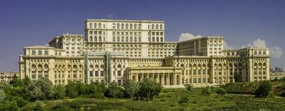 Parlamentslott, Bucharest Fotografering för Bildbyråer