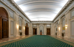 Parlamentslott Hall Royaltyfri Fotografi