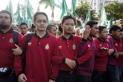13. Parlamentswahl Malaysias Lizenzfreies Stockfoto
