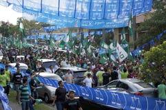 13. Parlamentswahl Malaysias Stockbild